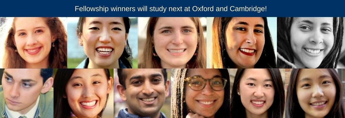 """Ten Yale seniors and a Yale College alumna have been awarded fellowships from a variety of organizations for graduate study at Oxford and Cambridge universities. <a href=""""https://news.yale.edu/2021/05/11/fellowship-winners-will-study-next-oxford-and-cambridge"""">Learn more</a>"""